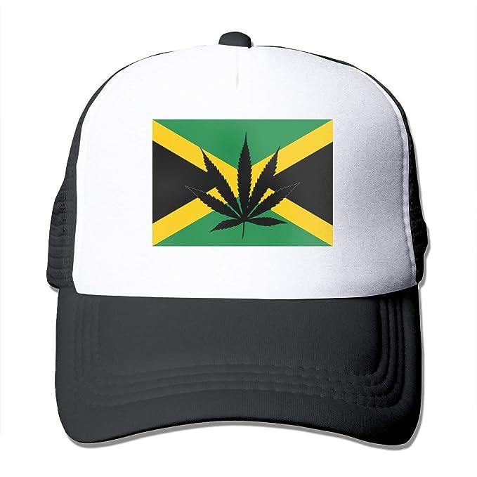 Louis Berry Weed Bandera jamaiquina, Sombrero de Malla Estampada ...