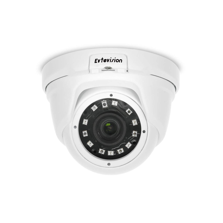 Power Over Ethernet POE ,Microfono incorporato, IP66 Impermeabile Monitor remoto,Accesso remoto Cloud P2P 36pcs IR 30M Visione notturna Evtevision 5MP H.265 PoE IP Telecamera di Sicurezza