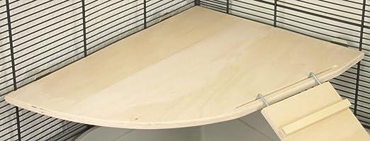 Piso petgard ecketage Giant 30 + Wega 35 cm Escalera Rampa | jaula para roedores accesorios