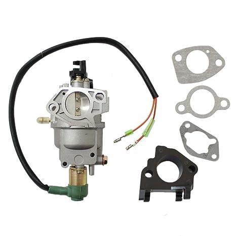 amazon com: champion power generator carburetor 41302 41311 41332 41351  manual choke lever: automotive