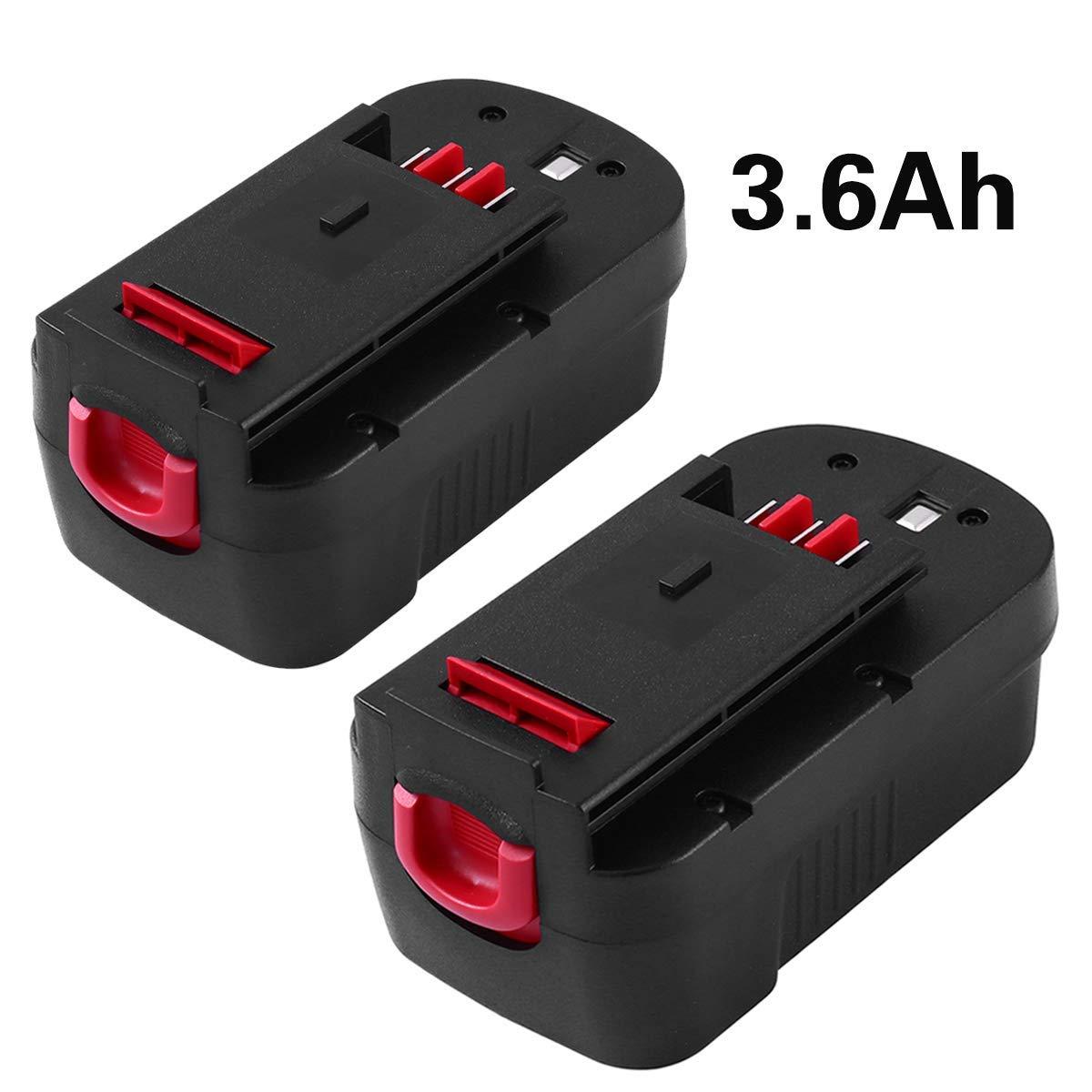 Replace for Black and Decker 18 Volt Battery HPB18 3.6Ah 18v Ni-Cd HPB18-OPE 244760-00 A1718 FEB180S A18 A18E A18NH FS18FL FS180BX FS18BX FSB18 Firestorm Cordless Power Tools