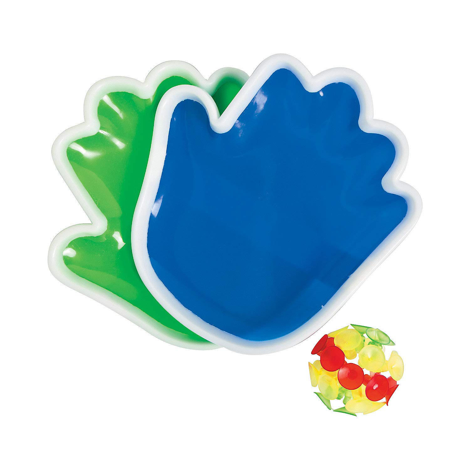 Fun Express - Plastic Hand Catch Game - Toys - Games - Outdoor & Travel Game Sets - 1 Piece