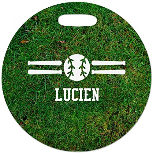 Price comparison product image Baseball Player Lucien Bag Tag: Luggage Tag with Hang Loop