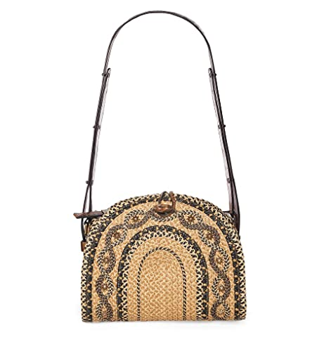 e2d23403a1c78f Eric Javits Luxury Fashion Designer Women's Handbag - Lil Jiva -  NATURAL/BLACK MIX