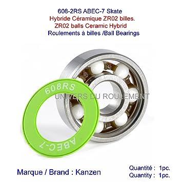 Rodamiento de skate SK8 608, 8 x 22 x 7 mm, ABEC 7 de ...
