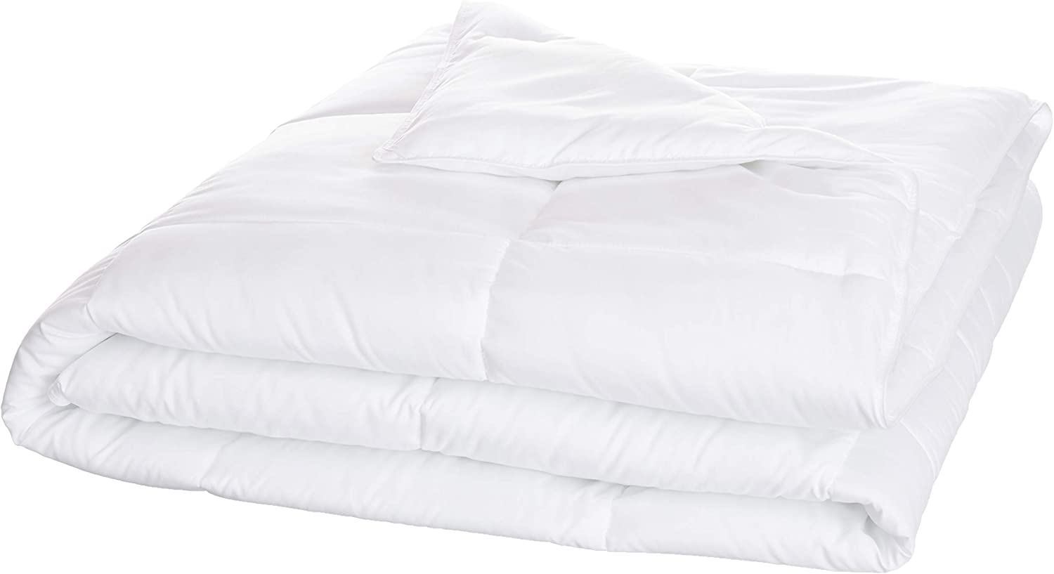 AmazonBasics Conscious Series Down-Alternative Comforter with Recycled Poly Fill - King