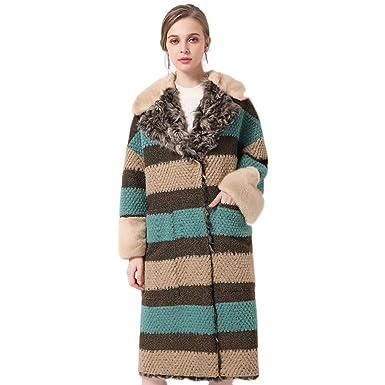 Amazon.com: Baeuty - Chaqueta de lana para mujer, forro de ...