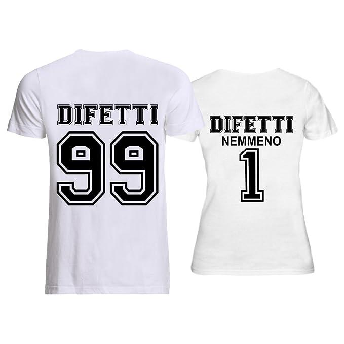 42477680236929 Shirt Personalizzate Coppia Per O Bianche Di T Innamorati Nere PXZkOiu