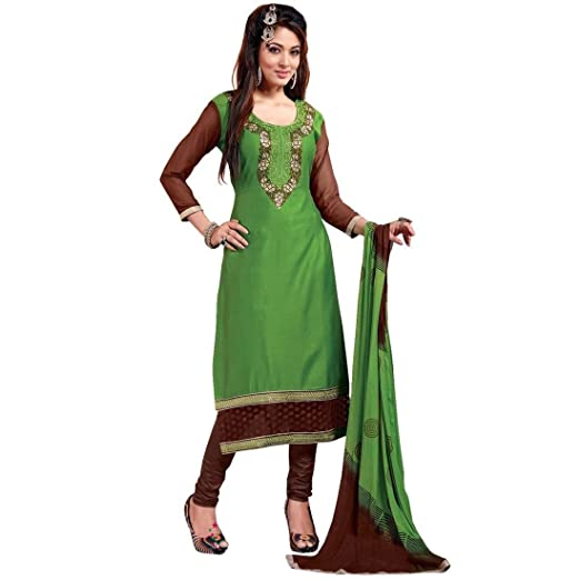 7f13541802 Amazon.com: Ready to Wear Designer Cotton Embroidered Salwar Kameez Indian  Suits: Clothing