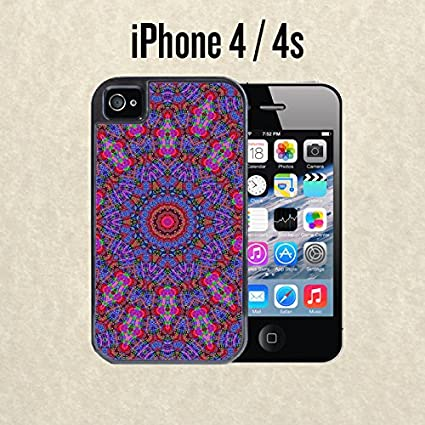Amazoncom Iphone Case Mandalas Tumblr Purple For Iphone 4 4s