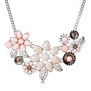 Bauhinia Explosion models exaggeration fashion retro false collar necklace