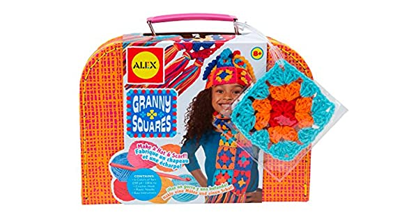 Amazon.com: Alex Toys Granny Squares – Craft – Kit para ...