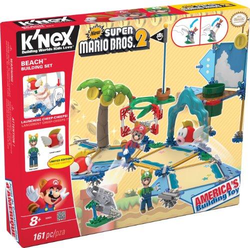 KNEX New Super Mario Bros 2 Beach Building Set #38624 ()