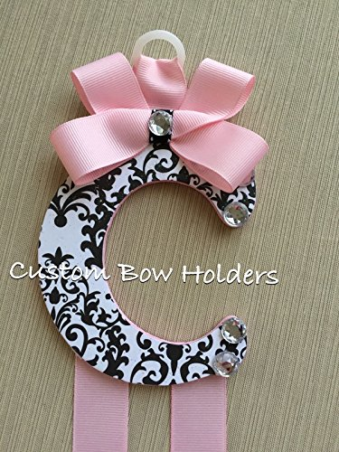 Hair Bow Holder - Damask Patterned 4