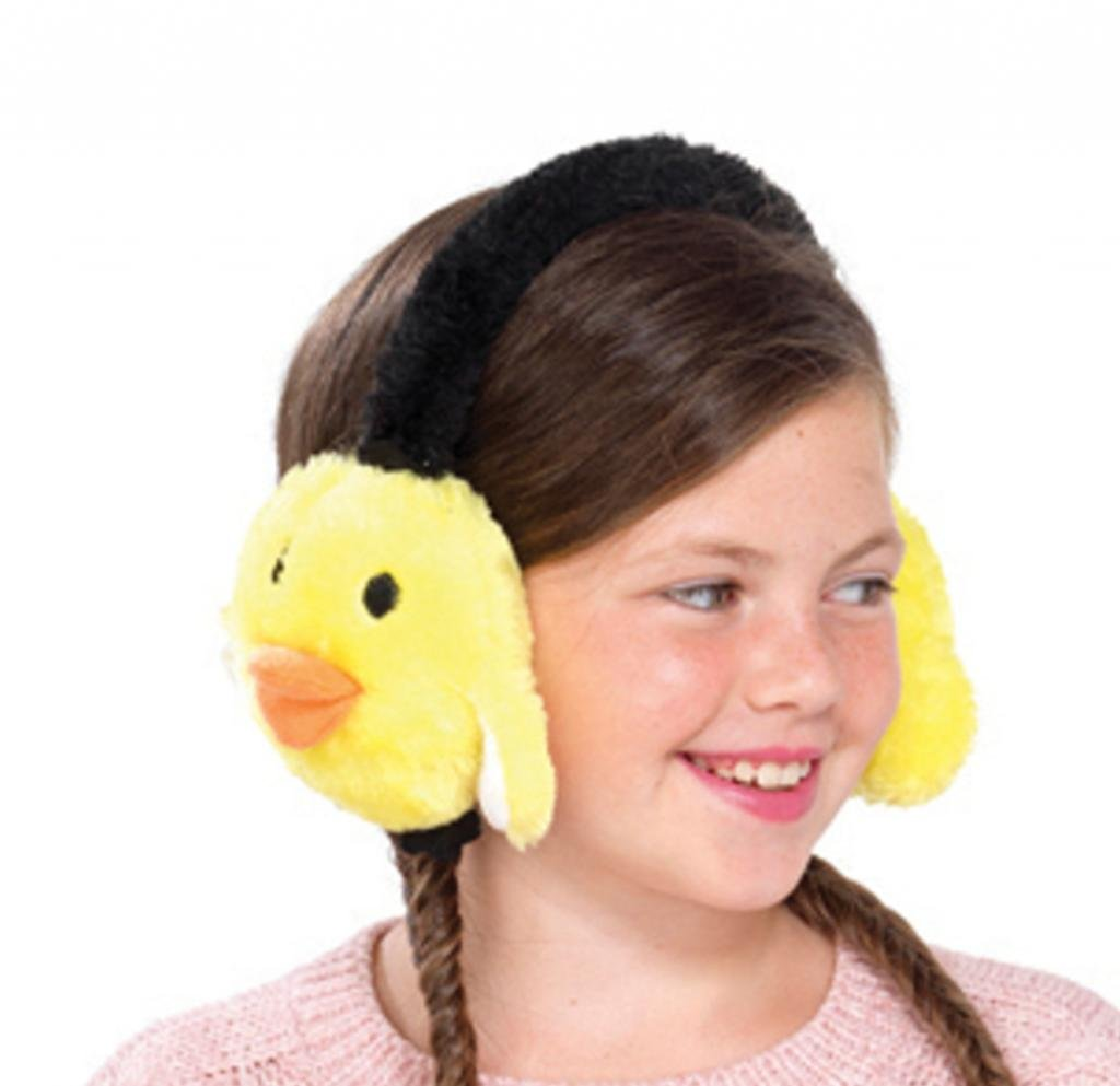 Girls Animal Ear Muffs GL074_BIRD
