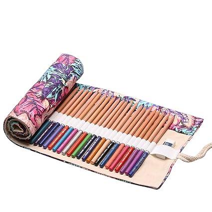 Estuche para lápices enrollable con orificio 36/48/72 ...