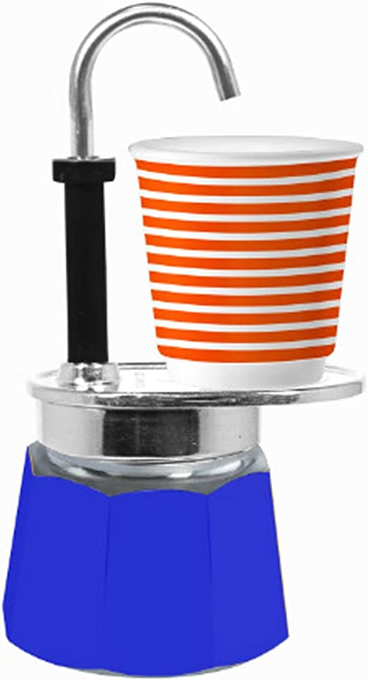Bialetti Mini Express Espresso eléctrica, color azul: Amazon.es: Hogar