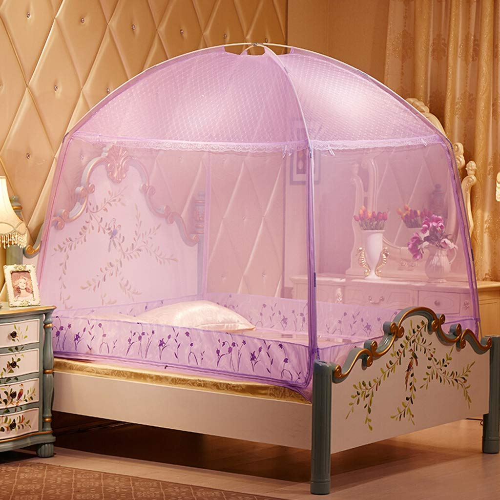 Large Mosquito Net Tent for Bed, Summer Easy Installation Insect Protection Repellent Bed Canopy Netting Curtains for Room Decoration