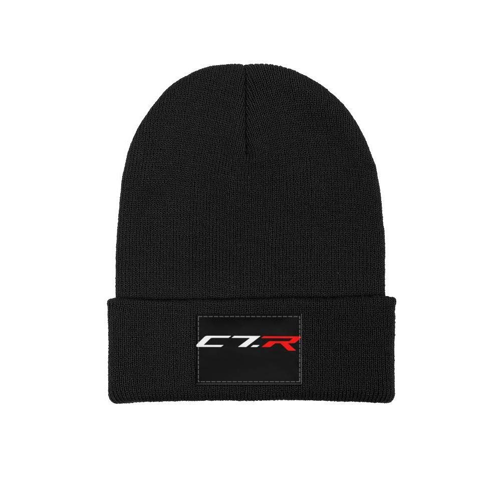 Wool Beanie Cap Knit Caps Fine Knit Knitting Beanie HatsSoft Slouchy sdfjkoinj Mens Corvette-Logo-Symbol