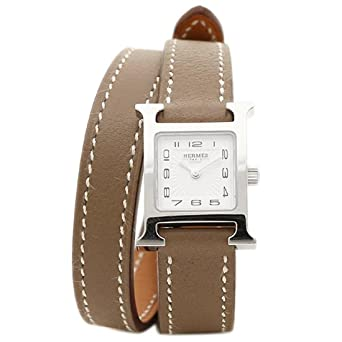 low priced 5a98a e7cc6 Amazon | (エルメス) HERMES エルメス 時計 HERMES HH1.110.131 ...