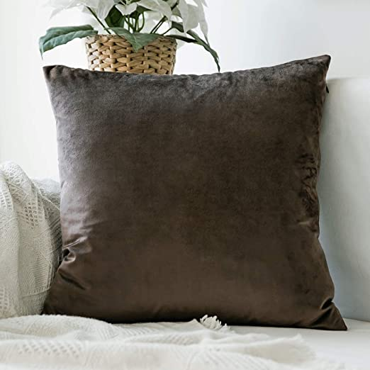 Amazon.com: MIULEE Decorative Velvet Pillow Covers Soft Square