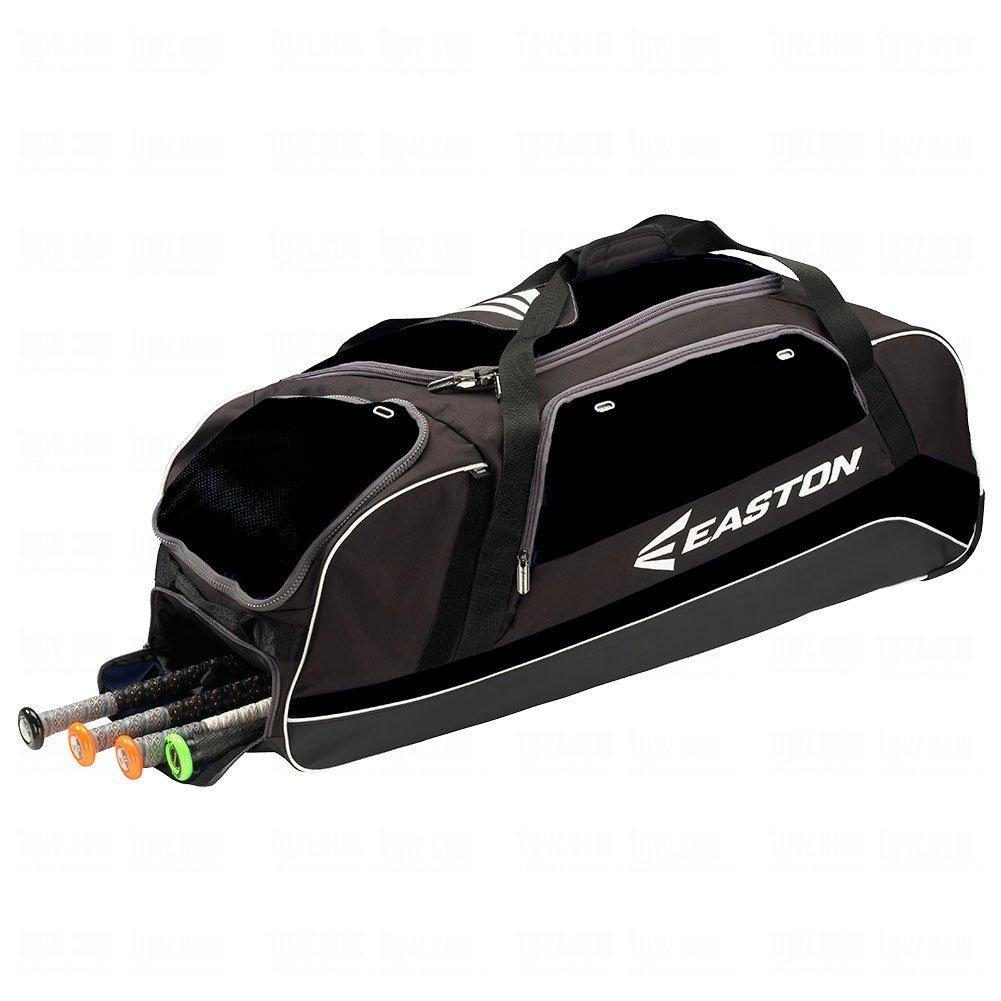 イーストン 車輪付き大容量キャッチャーバッグ 新モデル E500C [並行輸入品] B014F5XE4Yブラック