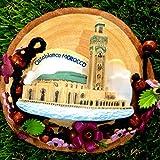 3D Refrigerator magnet Casablanca Morrocco Flag Gift  and  Souvenir
