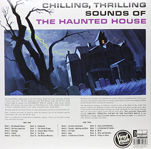 Chilling, Thrilling Sounds Of The Haunted House [LP] by VINYL (Image #1)