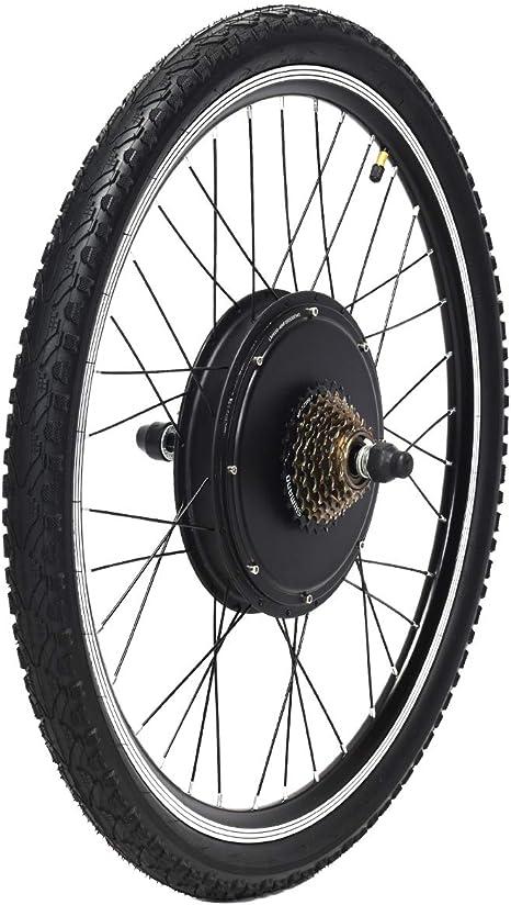 COSTWAY Kit de Conversión de Bicicleta Eléctrico de 26 Pulgadas ...
