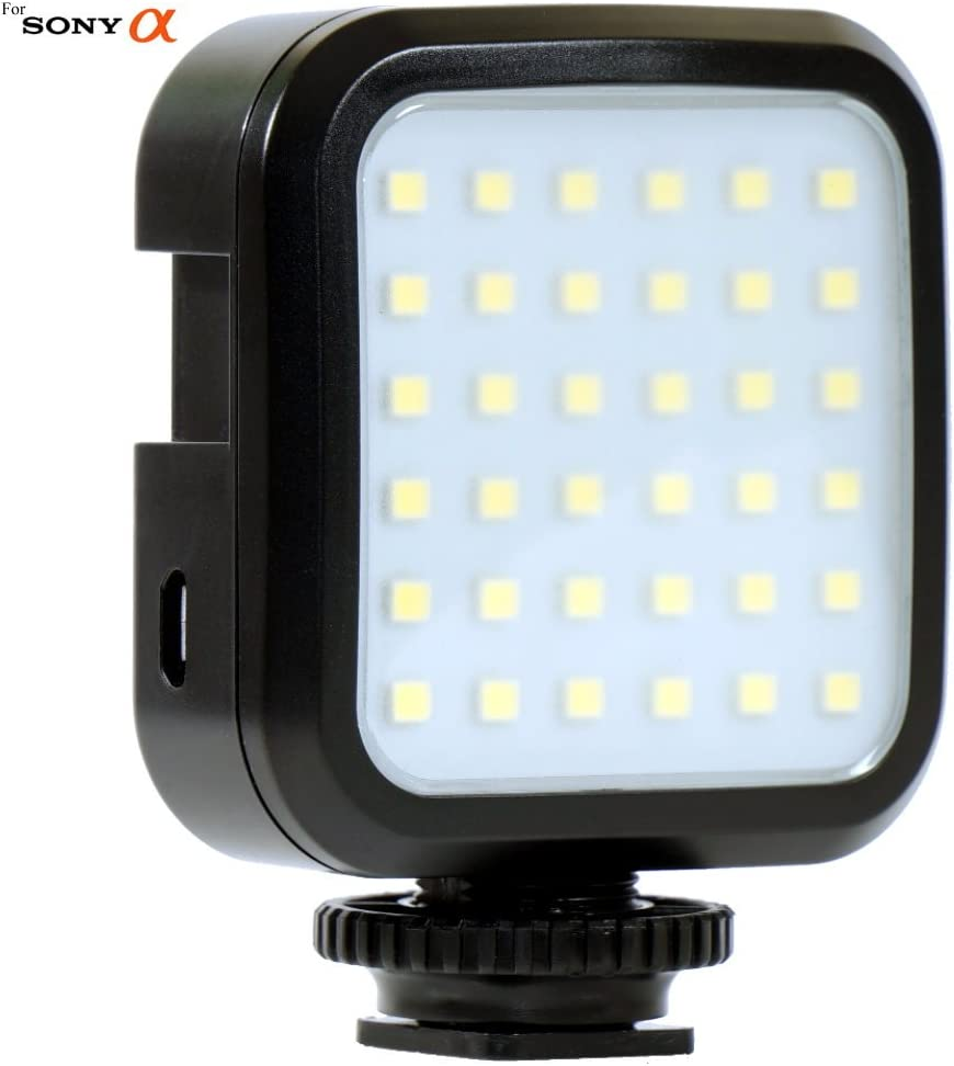 SLT-A37 SLT-A77 SLT-A68 Cameras: LED Light Panel SLT-A57 SLT-A58 SLT-A99 SLT-A65 SLT-A35 Bright 36 LED Array Shoe Mount Adjustable LED Video Light for Sony Alpha SLT-A33 SLT-A77 II SLT-A55