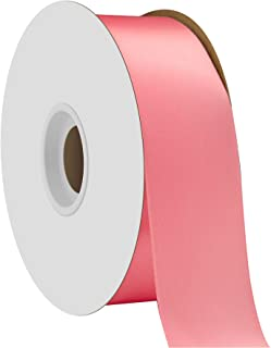"""product image for Offray Berwick 1.5"""" Single Face Satin Ribbon, Coral Rose Pink, 50 Yds"""