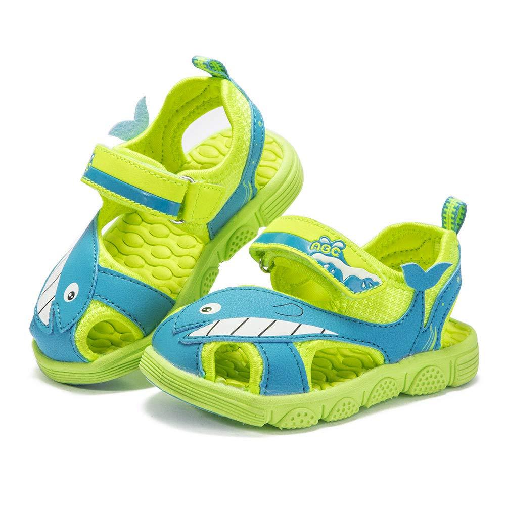 ABC KIDS Sandales B/éb/és Gar/çons Filles Confortable Antid/érapantes Semelle Souple Durable Enfants Chaussures De Plage