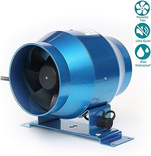 Ø100mm Silent Ventilador Extractor de Aire en Línea Motor de Dos ...