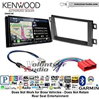 Volunteer Audio Kenwood DNX874S Double Din Radio Install Kit with GPS Navigation Apple CarPlay Android Auto Fits 2013-2016 Mazda CX-5