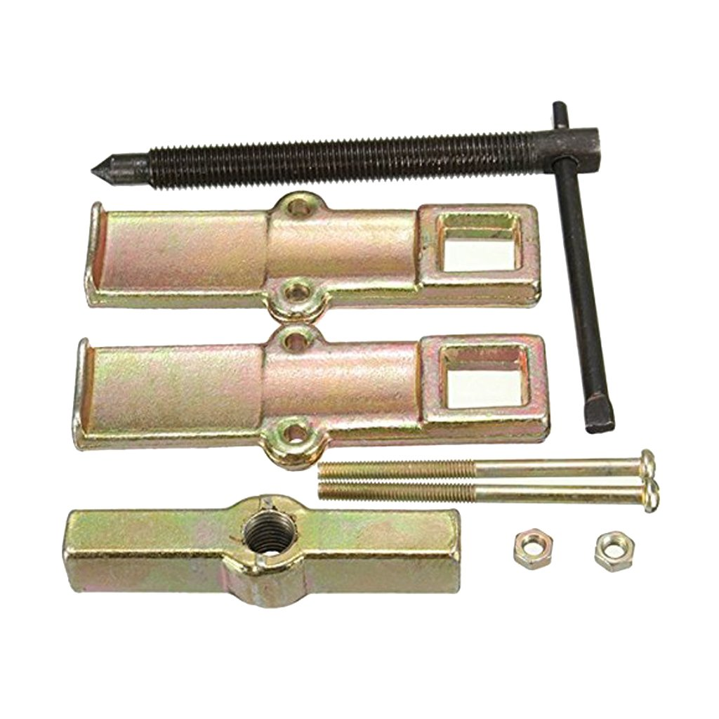 Pulley FLAMEER 4-inch 8-inch 2-Jaw Gear Puller Gear Removal Tool for Slide Gears Pack of 2 and Flywheel