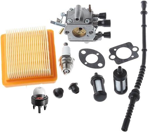 Amazon.com: HIPA Carburador con filtro de aire de foco de ...