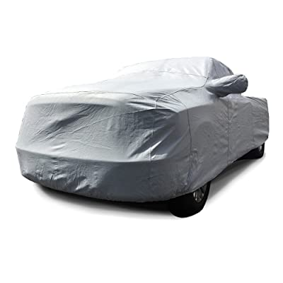 CarsCover Custom Fit Ford F350 F450 SD Crew Cab 8ft Long Bed Dually DRW Truck Car Cover Heavy Duty All Weatherproof Ultrashield: Automotive