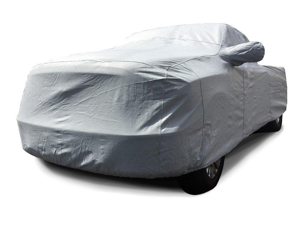 MFK CarsCover Custom Fit Chevy Silverado 3500 Crew Cab 8ft Long Bed Dually DRW Truck Car Cover Heavy Duty All Weatherproof Ultrashield