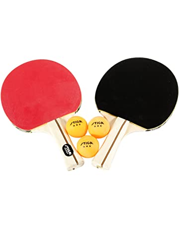 82e6c7b87c9da5 STIGA Performance 2-Player Table Tennis Set Includes Two Rackets and Three  3-Star