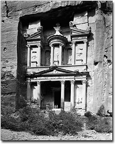 Stone Archive (The McMahan Photo Art Gallery & Archive Stone Structure Ancient City Petra Jordan 30x40 Silver Halide Photo Print)