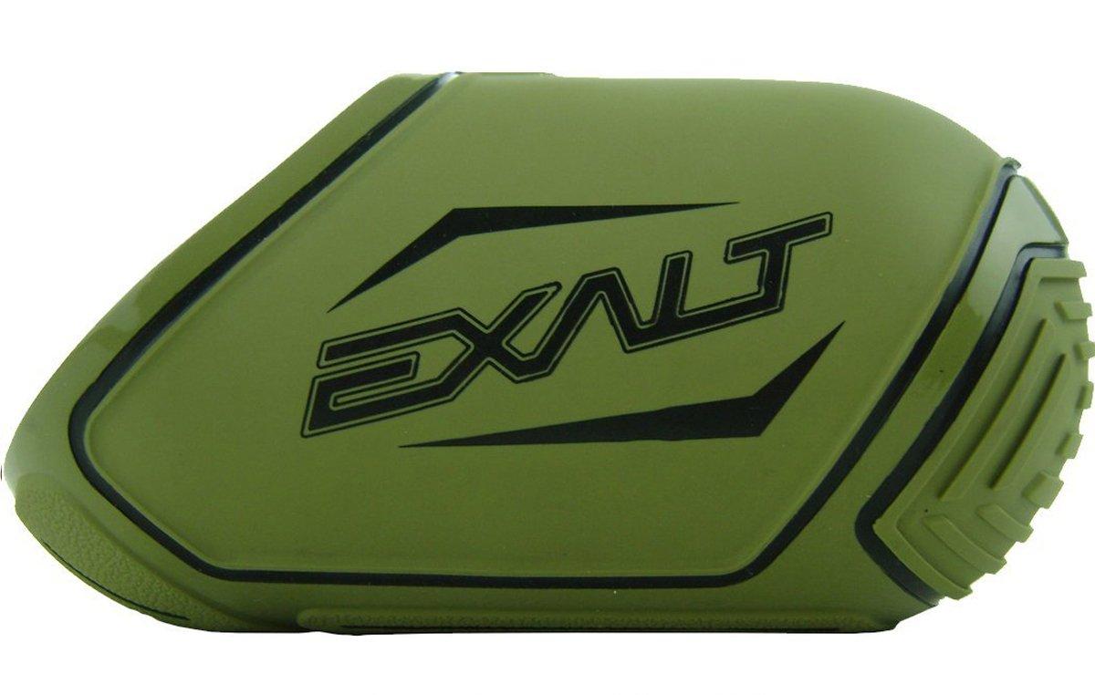 Medium Olive//Black Exalt Paintball Carbon Fiber Tank Cover