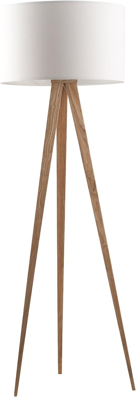 Zuiver 5000806 - Lámpara de pie, madera, color blanco