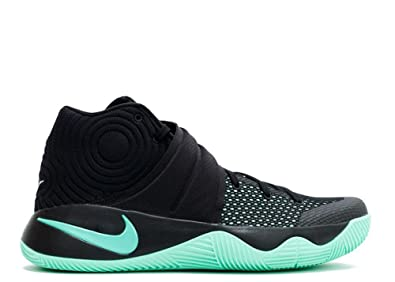 quality design 33b65 07d5b Nike Mens Kyrie 2 Black Green Glow Synthetic Size 11