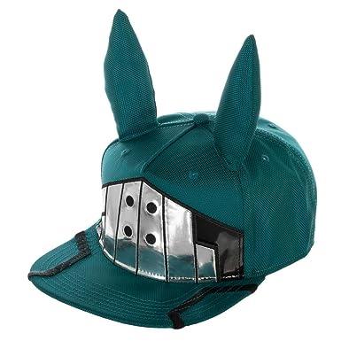 0839da91447 Bioworld My Hero Academia Deku Suit up Adjustable Snapback Hat at ...