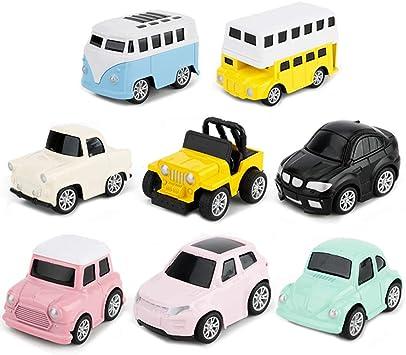 Tire Hacia Atrás el Coches de Juguetes Miniature Camion Modelos ...