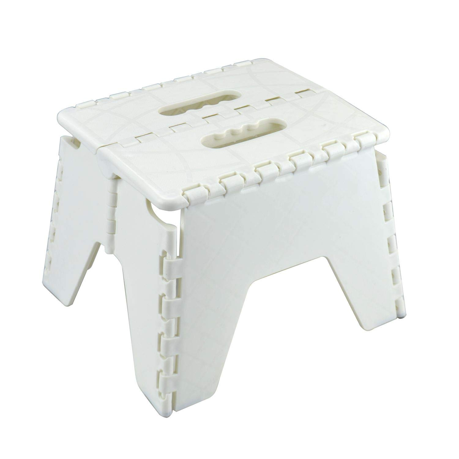 Remarkable Details About Asab One Step Folding Plastic Stool Portable Fold Up Footstool Asab White Creativecarmelina Interior Chair Design Creativecarmelinacom