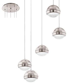 Silber Verschiedene Materialien EGLO Innenleuchte Integriert