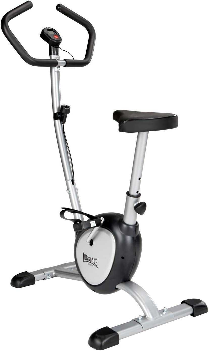 Lonsdale – Bicicleta estática fitness entrenamiento Cardio Fitness gimnasio equipo, negro, talla única: Amazon.es: Deportes y aire libre