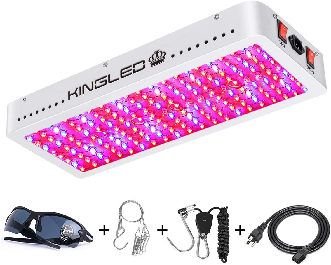King Plus 2000W Double Chips LED Grow Light