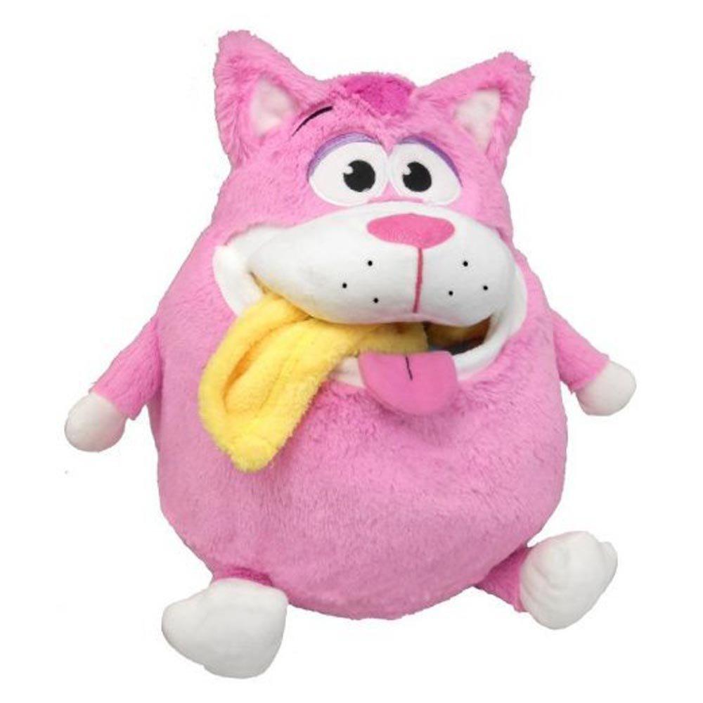 Snuggle Pets – Tummy Stuffers – Chat Rose – Peluche Range-Tout 32 cm (Import Royaume-Uni) Jay at Play - Import 84202